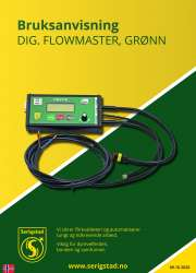 Digital Flowmaster, grønn